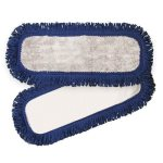 "Knuckle Buster Grey/Navy Microfiber Dust Mop, 18"", 1 Each (ACA-MFVM18)"