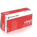 Prime Source Basics Medium Powder-Free Vinyl Gloves, Clear, 1000/Case (75006009)
