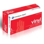 Prime Source Select Large White Disposable Vinyl Gloves, 1000 Gloves (75006280)