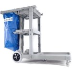 carlisle-long-platform-janitorial-cart-polyethylene-gray-jc1945l23