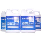 CLEANIT PRO Professional Grade Window & Glass Cleaner, 4 Gallons (CIS2GC14)