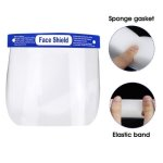 CleanIt Plastic Protective Disposable Face Shields, 4 Shields (FACESHIELD4)