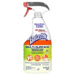 Fantastik Multi-Surface 32oz Disinfectant Spray Cleaner, 8 Bottles (SCJ311836CIS)