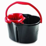 Libman 4 Gallon Bucket with Wringer, 3 Bucket/Wringers (LIB-01056)