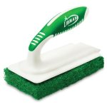 "Libman Tile & Tub Scrub Brush, 6""x3"", Green, 6 Scrubs (LIB-01161)"