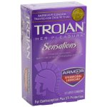 Trojan® Her Pleasure™ Condom, Latex, One Size Fits Most, 12/BX (950043_BX)
