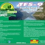 Simoniz Green Scene TFS-9 Touch Free Foam Soap, 1250mL, 2 Refills (SIM-G1397125)