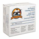 Genuine Joe All-Purpose Cleaning Towels, Reusable, White, 100 Towels (GJO20275)