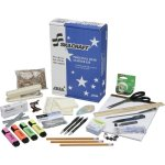 SKILCRAFT Employee Desk Starter Kit, Office Supplies, 21 Items/Kit (NSN4936006)