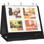 lion-ring-binder-easel-1-1-2-cap-horizontal-11x8-1-2-black-lio40009bk