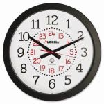 lorell-military-wall-clock-12-24-hour-14-3-4-we-dial-bk-frame-llr60993