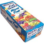 Welch's Fruit Snacks, Fat Free, 2.25 oz Packs, 12/BX (WEL3124)