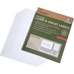 Skilcraft Name Badge Labels, 2-1/3 x 3-3/8, White, 400 Labels (NSN5789299)