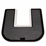Genuine Joe Deodorizing Commode Mat, Black, 1 Each (GJO58331)