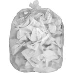 "Special Buy Trash Bag Liners,24""x24"",6 mic,High Density,1000/CT,Clear (SPZHD242408)"