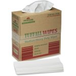 "SKILCRAFT Tuffall Wipes, Med-Duty, 1-Ply, 9-3/4""x16-3/4"", 100 Wipes (NSN5122413)"