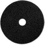 genuine-joe-black-floor-stripping-pad-13-diameter-5-pads-gjo90213
