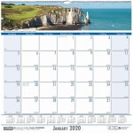 house-of-doolittle-coastlines-monthly-wall-calendar-12-x-12-2020-hod328