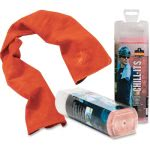 Chill-Its Evaporative PVA Cooling Towel, Orange, 1 Each (EGO12441)