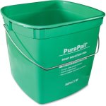 Impact PuraPail 6 Quart Utility Cleaning Bucket, Green, Each (IMP550614C)