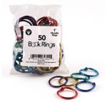 hygloss-metal-book-rings-1-capacity-assorted-colors-50-rings-hyx61351