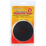hygloss-magnetic-tape-self-adhesive-1-2x120-black-hyx61410