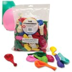 hygloss-premium-balloons-9-round-assorted-colors-144-balloons-hyx10304