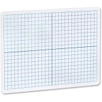 "Flipside Dry Erase XY Axis Board Dual Sided, 9""x12"", White (FLP11000)"