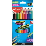 Maped Colored Pencils, Assorted Colors, 24 Pencils (HLX832046ZV)