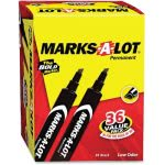 avery-large-desk-style-permanent-marker-chisel-tip-black-36pack-ave98206