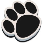 ashley-whiteboard-magnetic-eraser-paw-black-white-each-ash10017
