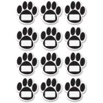 ashley-design-dry-erase-magnets-paws-12-pcs-1-st-black-ash10104