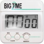 Ashley Magnetic Digital Timer, Black/White, 1 Each (ASH10210)