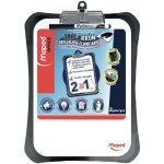 Maped Dry Erase Clipboard w/ Marker, Black/White, 1 Each (HLX350210)