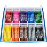 Maped Washable Markers, Fine Tip, Assorted Colors, 200 Markers (HLX845470)