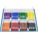 Maped Ultra Washable Markers, Broad Tip, Assorted, 200 Markers (HLX846170)