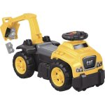 Mega Bloks Cat 3-In-1 Excavator Ride-On, Age 1-3, Yellow (MBLDCH13)