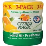Citrus Magic Solid Air Freshener, Assorted Scents, 3 Containers (BMT616472149)