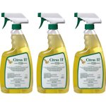 Citrus II Germicidal Cleaner, Citrus II, Spray Bottle, 3 Cleaners (BMT633772153)