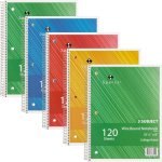 sparco-notebook-3-subject-10-1-2x8-college-ruled-120-sht-5-bd-ast-spr83254bd
