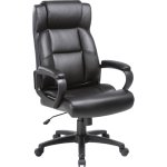 "Lorell Executive Chair, High-Back, 29""Wx28-1/2""Lx46""H, Black (LLR41844)"