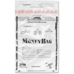 "ICONEX Disposable Money Bag, Plastic, 12""X16"", 100/Pk, Clear (ICX94190070)"