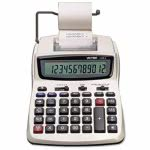 Victor 2 Two-Color Printing Calculator, 12-Digit LCD, Black/Red (VCT12082)