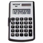 Victor 908 Portable Pocket/Handheld Calculator, 8-Digit LCD (VCT908)