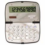 Victor 909 Handheld Compact Calculator, 10-Digit LCD (VCT909)