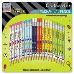 zebra-cadoozles-mechanical-pencil-assorted-barrels-28-per-pack-zeb51291
