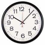 universal-indoor-outdoor-wall-clock-13-1-2in-black-unv11381