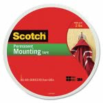Scotch Foam Mounting Double-Sided Tape, 3/4 Wide x 350 Long (MMM110LONG)