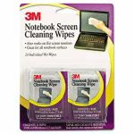 3m-notebook-screen-cleaning-wet-wipes-cloth-7-x-4-white-24pack-mmmcl630