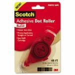 Scotch Adhesive Dot Refill, .3 in x 49ft, Clear, 1 Each (MMM6055R)